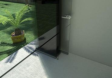 Glass Curtains Malaga, Cover glass panels