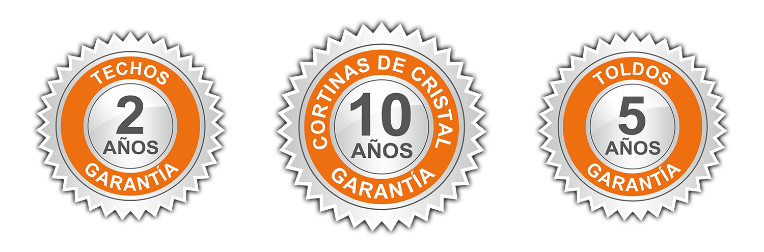 10 years guarantee Glass Curtains Idea Terrazas Malaga Costa del Sol